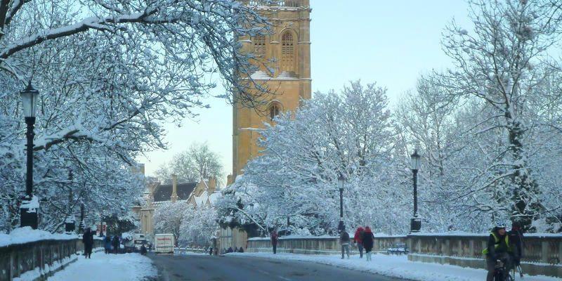 Inverno em Oxford