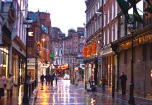 Chuva em Dublin