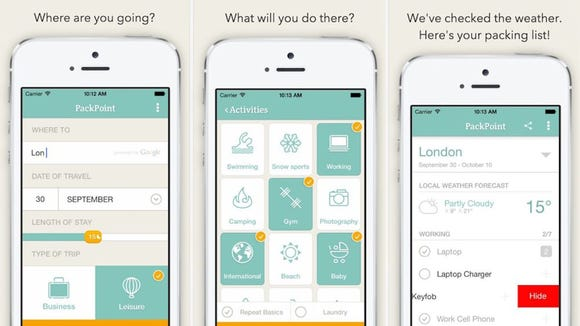 app para viajantes