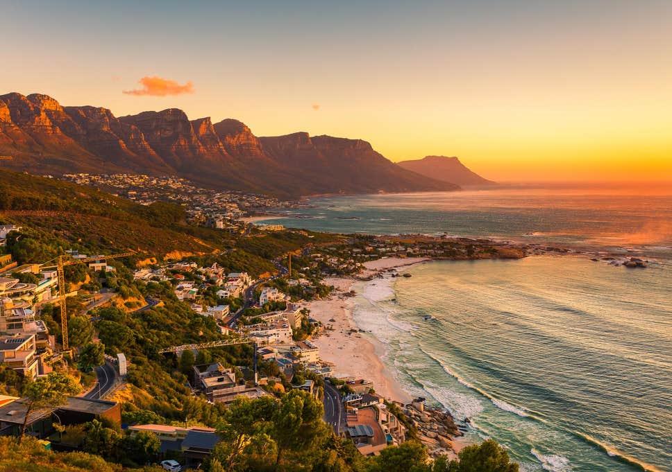 Cidade do Cabo, África do Sul.