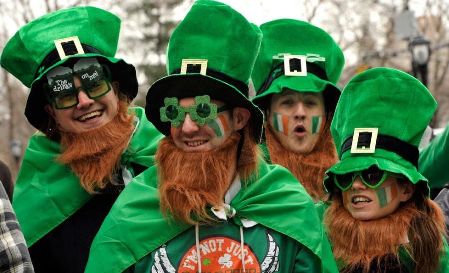 St. Patrick's day, comemoração típica da Irlanda.