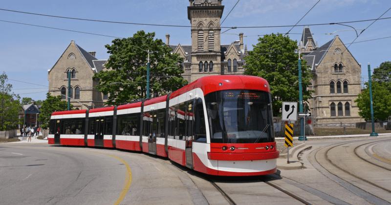 streetcar em Toronto